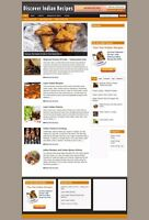 INDIAN COOKING WEBSITE FOR SALE + UK AFFILIATES - FREE DOMAIN