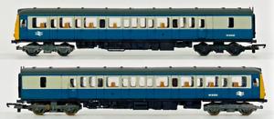 LIMA 00 GAUGE - CLASS 117 BR BLUE/GREY DMU POWER/DUMMY TWIN SET - UNBOXED