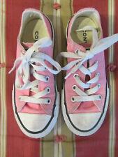 Converse, Girls Size 11 (LittleKid), Pink Chuck Taylor All Star Shoes, Guc!