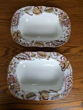Noble Excellence, Taylor pattern, 2 open Vegetable Dishes