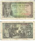 BILLETE DE 5 PESETAS DE 1943 (MBC-) ISABEL LA CATÓLICA (SERIE B)