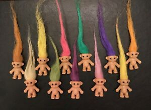 1,6,12, 36,48,96, 200 Mini TROLLS Mixed Colours Ideal Party Bag from 99p FREE PP