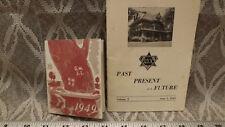 1949 Omega Sigma CHI Booklet  University of Wisconsin, Jr Prom Program