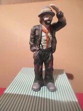 Emmett Kelly Jr~ Clown Figurine by Flambro