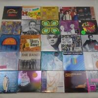STARBUCKS COMPILATION CD ALBUM LOT 25ct ROCK JAZZ NEW WAVE +MORE NEW FREE S&H Ti