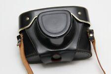 Camera Case with strap for Exa Exakta Ihagee No camera red interior