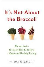 It's Not About the Broccoli: Three Habits to Teach Your Kids for a-ExLibrary
