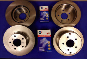 Holden Commodore VT VX VY VZ /Statesman WH WK WL Front & Rear Disc Rotors + Pads