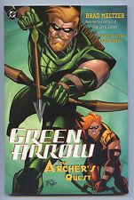 GREEN ARROW THE ARCHER'S QUEST 2003 DC 1st Print NM TPB Brad MELTZER Phil HESTER