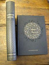 littérature française 2 tomes Bédier / Hazard/ Larousse