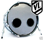 """6"""" Bass Drum Head Mic Hole Kick Port DRUM O's ring - Choose from 3 colors"""