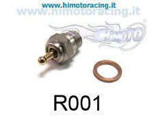 R001 CANDELA IN ACCIAIO ACCENSIONE MISURA STANDARD + RONDELLA GLOW PLUG HIMOTO