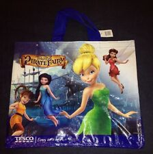 Disney Tinkerbell Pirate Fairy Bag Tesco Tote 2014 Pixie New Eco Shopper Gift