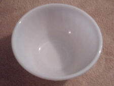 "Anchor Hocking's Fire King White Swirl 9"" Mixing Bowl"