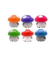 Portable Mini Cute Mushroom Shape Corner Desk Table Dust Vacuum Cleaner New US