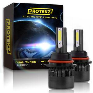 9005 HB3 + 9006 HB4 4 Bulbs LED Headlight Kit Plug&Play 60W 7200LM 6000K White