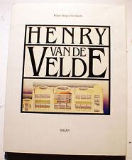 VAN DE VELDE/K.J.SEMBACH/ED HAZAN/1989/ART NOUVEAU/JUGENSTIHL/WEIMAR/SECESSION