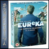 A TOWN CALLED EUREKA THE COMPLETE SERIES SEASONS 1 2 3 4 5 BRAND NEW DVD BOXSET
