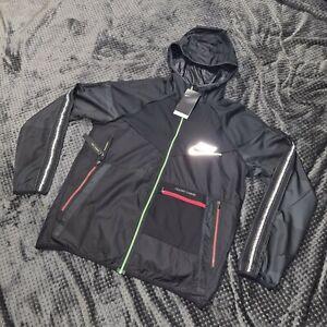 Nike RARE Black Wildrun Wild run Jacket Windbreaker Windrunner M New meekz