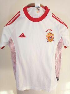 Spain Away Football Shirt 2002-2004 (2XS) Adidas Camiseta Jersey