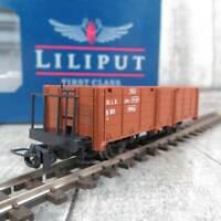 OVP ÖBB Liliput 245180 H0e Bahnwagen X 601.9310 Flachwagen der StLB Epoche 4//6