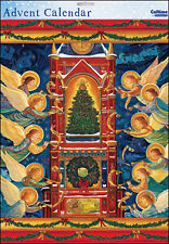Traditional Angels Religious  Large Advent Calendar Caltime 315 x 410 mm