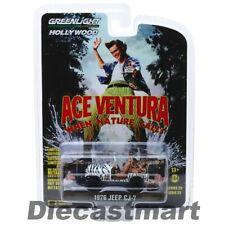 Greenlight 1:64 Ace Ventura When Nature Calls 1976 Jeep CJ-7 44850A Diecast Car
