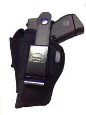 Nylon Gun Holster fits Walther CCP Pro-Tech Ambidextrous Black Nylon