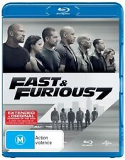 Fast & Furious 7 (Blu-ray, 2015) NEW and