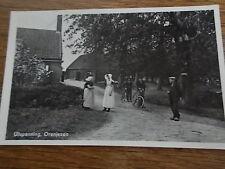 Dutch Postcard Village bikes Ultspanning Oranjezon Zealand Holland Netherlands