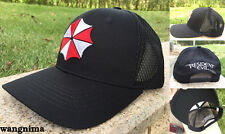 Resident Evil Umbrella Hat Cap Trucker Baseball New Curved Hip-Hop Sunhat New
