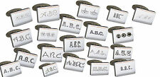 Customised Cufflinks with Huge Choice of Fonts