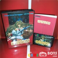 Gaiares Game Cartridge SEGA Mega Drive Japan Japanese Boxed with Manual NTSC-J