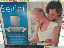 Bellini 60cm Curve Glass Canopy Rrangehood