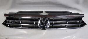 VW PASSAT B8 R LINE FRONT GRILL GENUINE 2015-2019