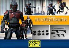 Star Wars Sh Figuarts Mandalorian Super Commando Custom Repaint The Clone Wars