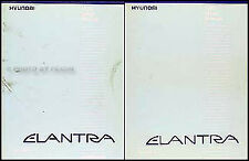 1993 Hyundai Elantra Repair Shop Manual Set 93 GLS