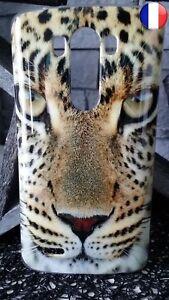 Coque Plastique Souple Housse Etui LG G3 Tigre Félin Lion Léopard Tiger 29