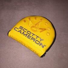 Scotty Cameron Phantom X 7-Point Crown Mid-Round RH Putter Headcover Yellow