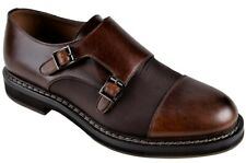 Brunello Cucinelli IT Shoes Men's   Smooth Leather  44   Loafers  Brown