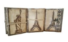 Leather Journal Diary Notebook Handmade Blank Unlined Travel Notepad Lot of 4
