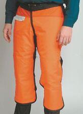 CONDOR 5AD18 Chain Saw Chap, 2XL, Orange