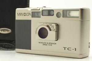 READ 【MINT w/ Case】 Minolta TC-1 Point Shoot 35mm Compact Film Camera from JAPAN