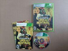 Red Dead Redemption: Undead Nightmare (Microsoft Xbox 360, 2010) w/ bonus map!
