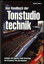 Webers - Handbuch der Tonstudiotechnik  FRANZIS 7. Auflage 1999