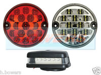 LAND ROVER LED REAR FOG REVERSE & NUMBER PLATE LAMPS LIGHTS UPGRADE RDX WIPAC