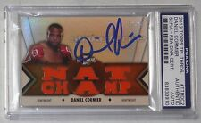 Daniel Cormier Signed UFC 2013 Topps Knockout Triple Threads Relic Card PSA/DNA