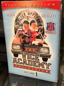 Vice Academy / Vice Academy 2 / Vice Academy 3 (DVD) 3-Disc! Ginger Lynn Allen..