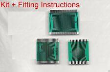Mercedes Benz Instrument Cluster Pixel Display Repair Ribbon Cable W210 / W202