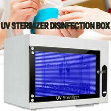 Uv Sterilizer Disinfection Cabinet Towel Dry Heat Spa Salon Beauty Nail Tool